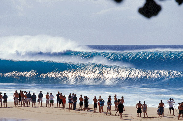 Banzai Pipeline, Photo Courtesy of WikiCommons