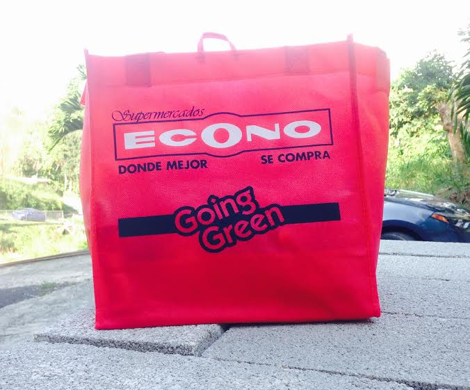 Reusable Bag, 25 cents at the Econo